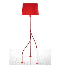 Golvlampa Jazz Röd