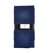 Handduk 100% Bomull Blå 100x50 cm