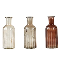 Flaska Brun 3-pack 19 cm