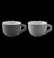 Emma kopp, 2 st - grå
