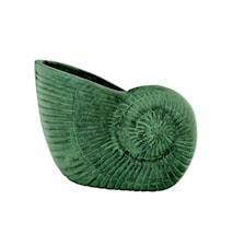 Skål i form av snäcka, 13 cm