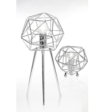 Bordslampa Diamond Krom