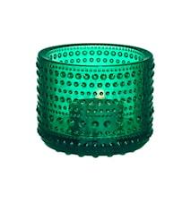 Kastehelmi lysestage 64mm emerald