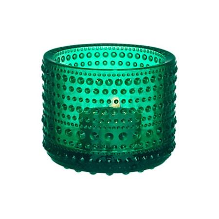 Iittala Kastehelmi kynttilälyhty 64 mm smaragdi