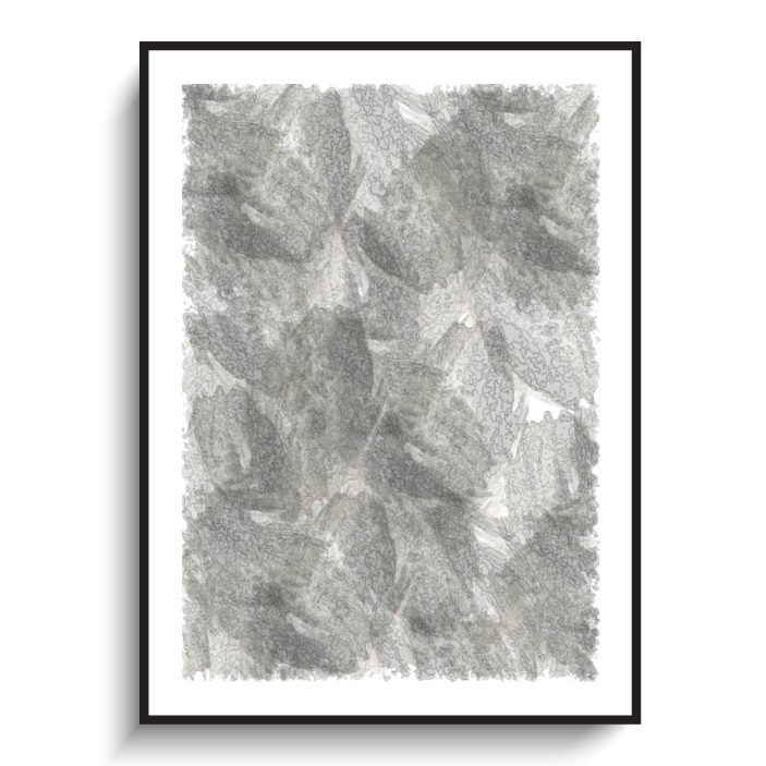 Art 13 grey poster