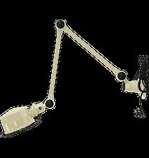 Lak L4401 Vägglampa 40+40 cm m. brytare
