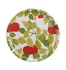 Apple Bricka Grön Rund Ø 31 cm