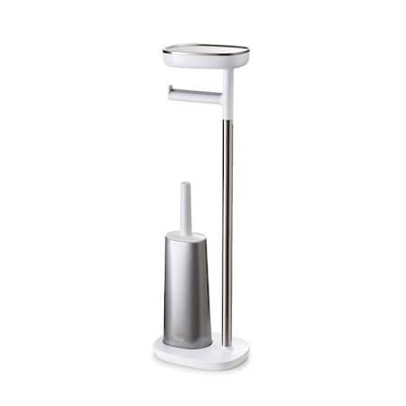 EasyStore Butler Plus Standing Toilet Paper Holder with Flex Steel