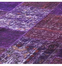 Patchwork Rug Purple