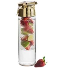 Fresh flaske med frugtstempel, guld