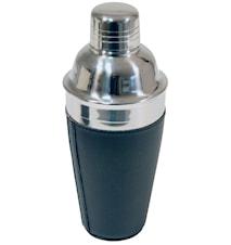 Shaker rostfritt i svart konstläder rymd 5.0 dl