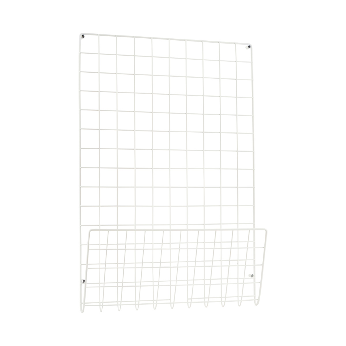Mesh Anslagstavla Vit 50x72,5 cm