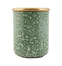 Förvaringsburk Effect Ø 9,5x11 cm - Grön