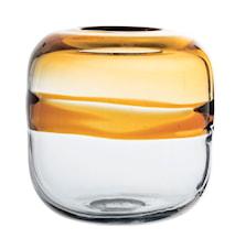 Vas Brun Glas 16x16,5cm