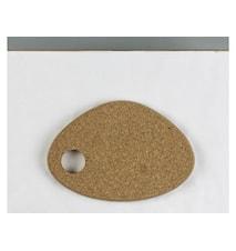 Grytunderlägg 24x16 cm Kork
