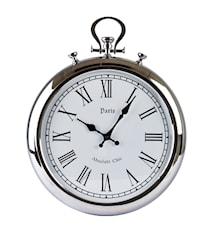 Klocka Silver 38 cm