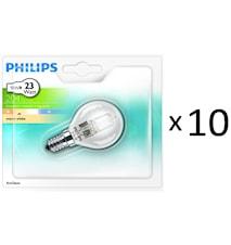 Philips Halogen Klot E14 18W (23W)10st