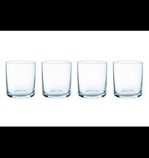 Simply glas 4 st - blå