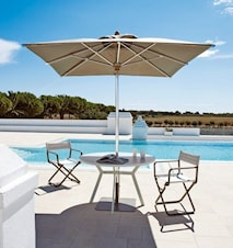 Free parasol med fod