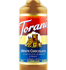 Chocolate Bianco syrup 750 ml
