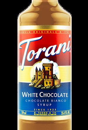 Torani Chocolate Bianco syrup 750 ml