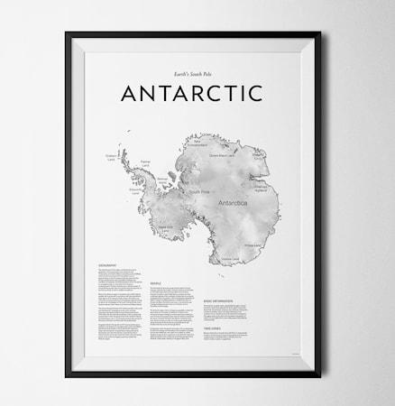 Bild av Konstgaraget Antarctic 114 poster – 30x40