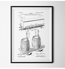 Patent öl vit