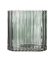 Vas Green Glass 18x9 cm