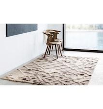 Bur-bur handvävd matta