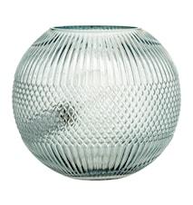 Gulvlampe Glas Ø 25 cm - Blå