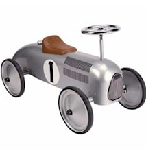 Classic metal racer silver