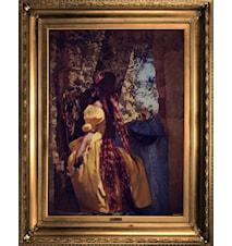 Rapunzel tryckt canvas