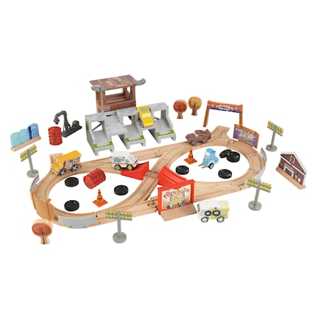 Disney® Pixar Bilar 3 50 Piece Thunder Hollow Track Set
