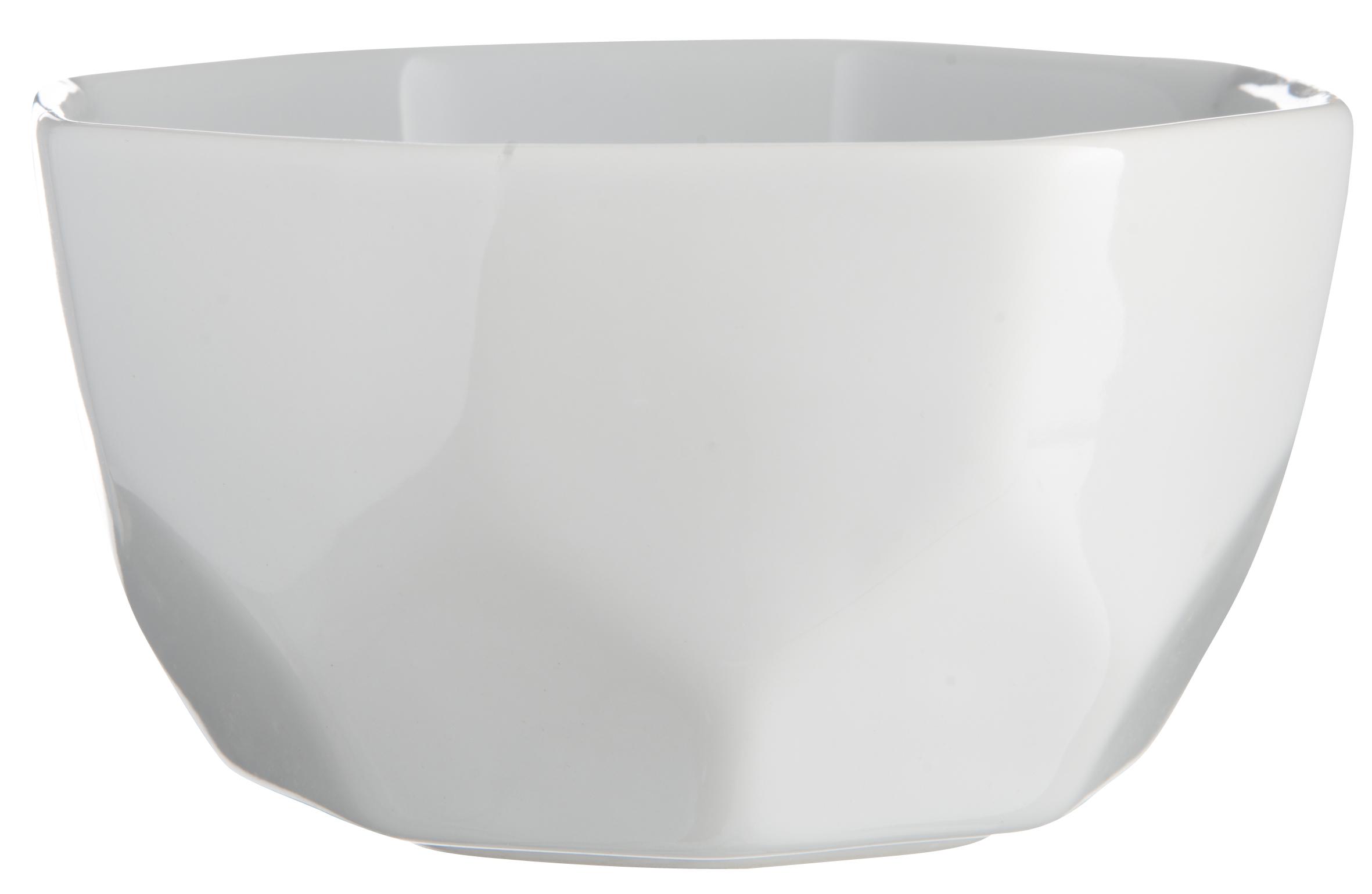 Skål Vit Ø 14 x H 7,5 cm