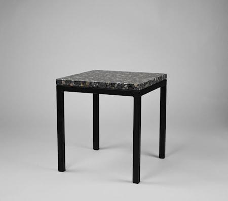 Piccolo bord 30x30x30 - Svart underrede, Firenze dark grey