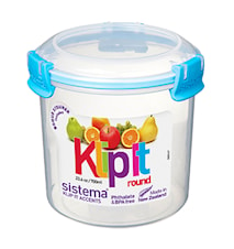 Klip it 700ml Round Accents