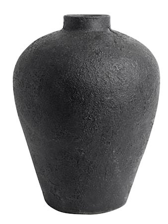 MUUBS Luna Kruka Svart Terracotta 40x32 cm