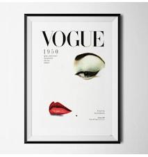 Vogue 1950 poster