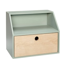 Shelf drawer vägghylla