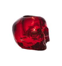 Still Life Skull Röd Ljuslykta Ø 11,5 cm