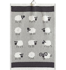 SHEEP Viskestykke 48X70 CM