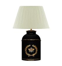 Lampa, oval, större, med humla