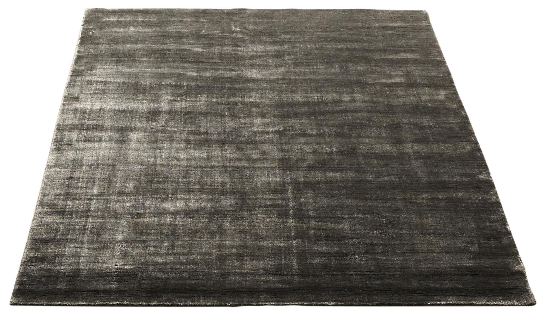 Bamboo handvävd matta   grå från massimo hos confidentliving.se