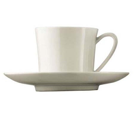 Kjøp Jade Hvit Kaffekopp med fat 20 cl. Kjøkkenprodukter hos Kitchentime 53885236f7886