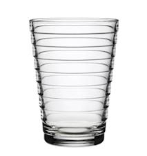 Aino Aalto glass 33 cl klar 2-pakk