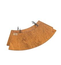Avlastningsbord till Braspanna 60cm, set med 2 bord