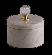 Light crystal ask - Lys marmor, Krystal, Stor