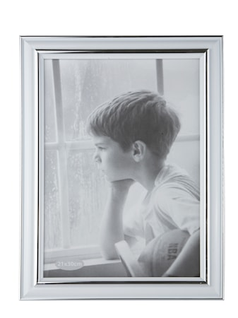 Bild av KJ Collection Tavelram Silver 21x30 cm