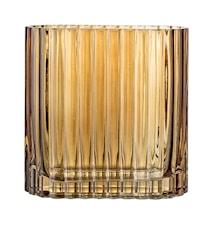 Vas Brown Glass 14x6,5 cm