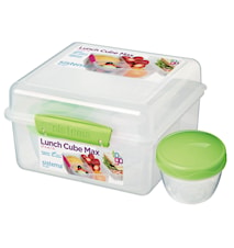 2L Lunch Cube MaxTo Go with Yogurt Pot